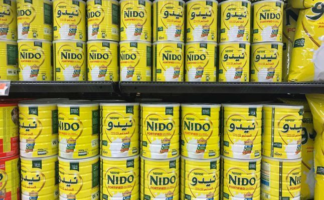 صورة حليب نيدو للاطفال عمر سنه , المساعد الغذائي لصحه طفلك
