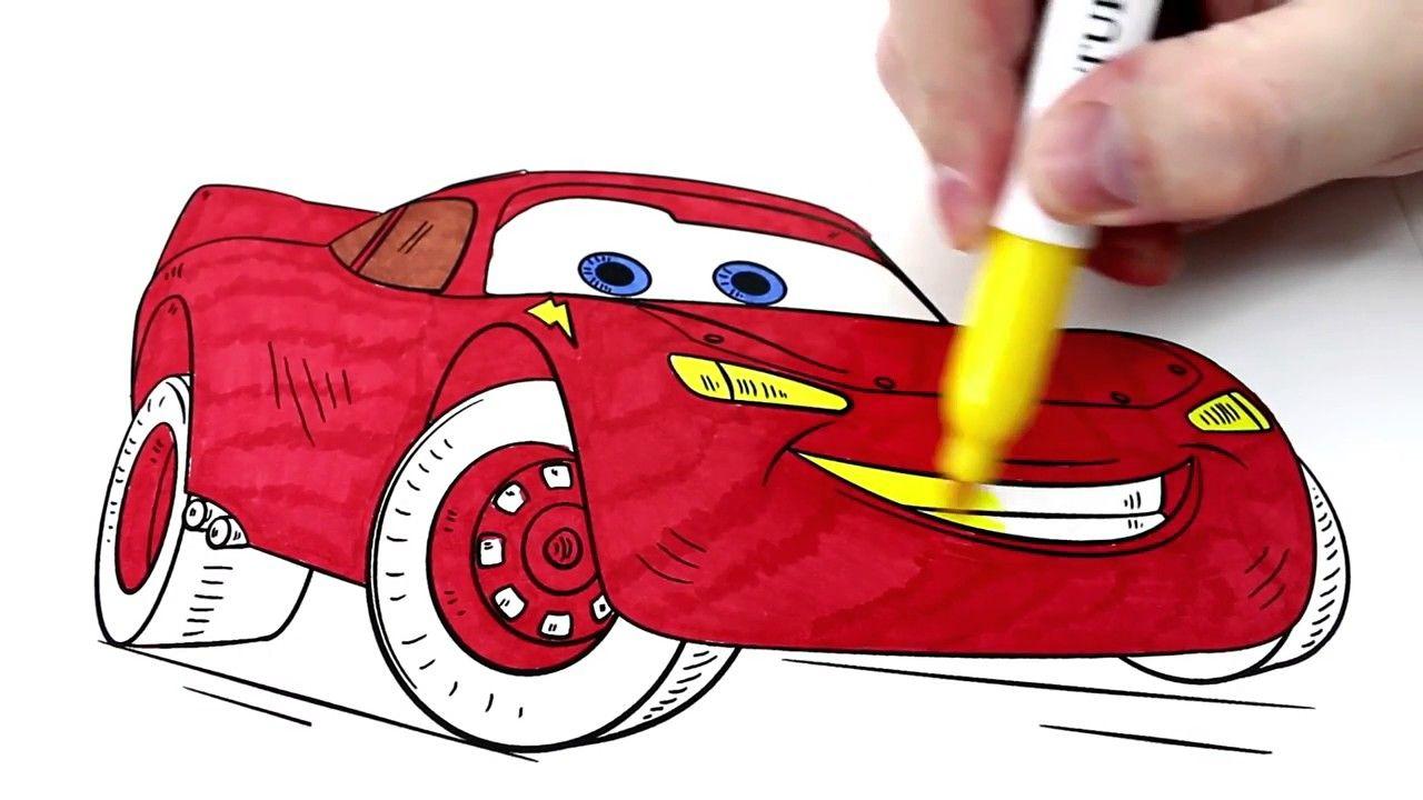 رسم سيارة كرتون