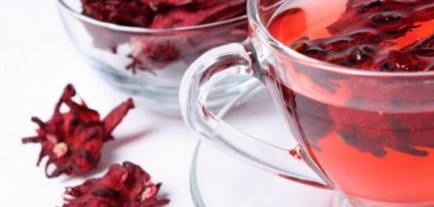 صورة فوائد مشروب الكركديه , تعرف على اهمية الكركديه
