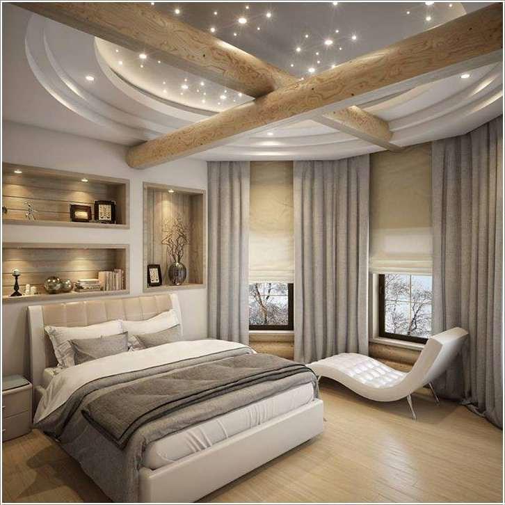 ديكورات جبس بورد لغرف النوم خلي دايما غرفة نومك مميزة عن باقي