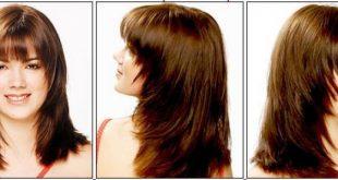 قص الشعر مدرج قصير , شعر قصير تدريجيا جميل