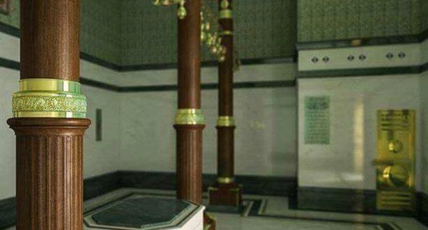 صورة الكعبة المشرفة من الداخل بالصور , الكعبه المشرفه مايوجد بها في الداخل