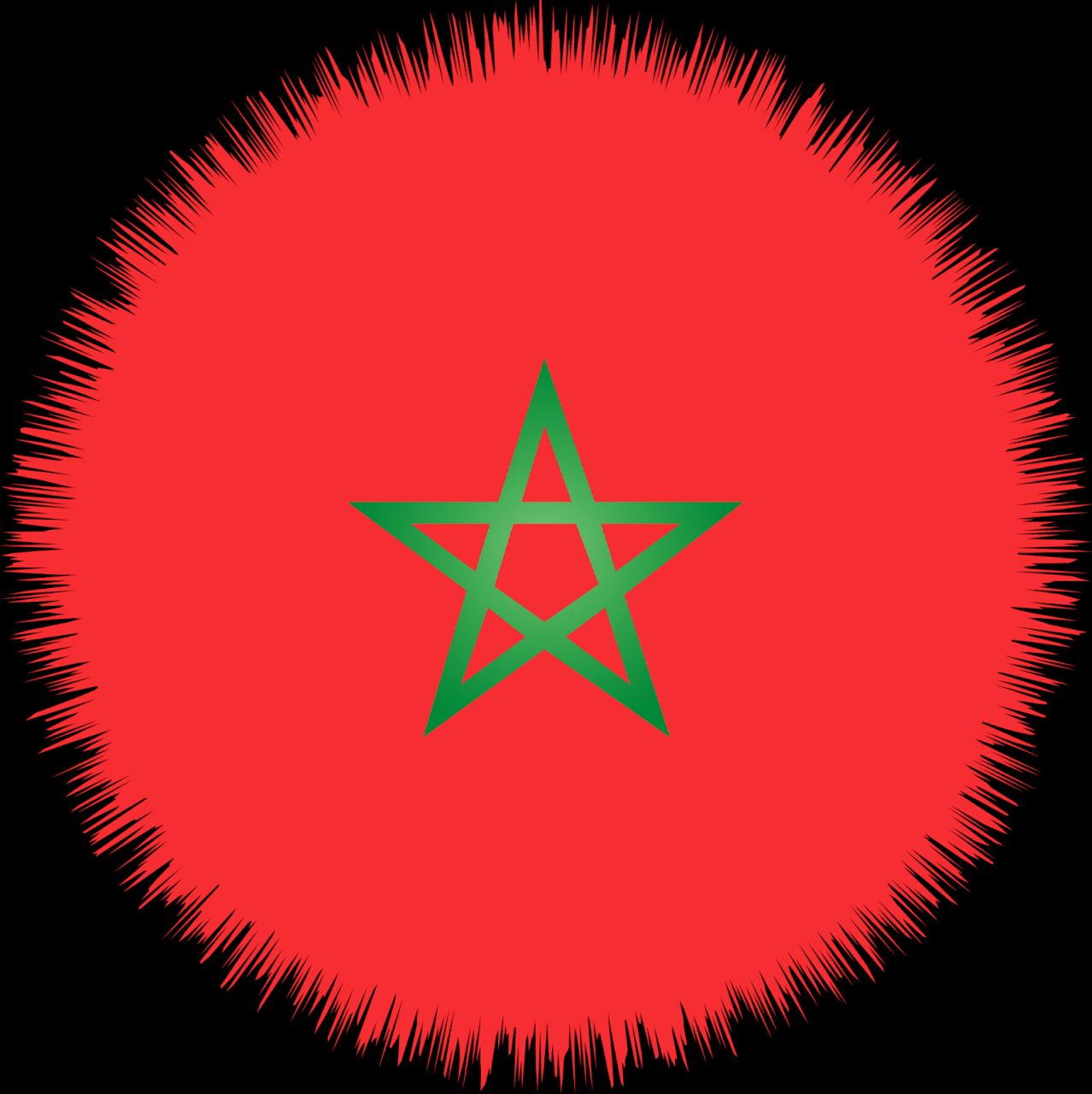 صورة صورة علم المغرب , خلفيه للعلم المغربى 2705 1