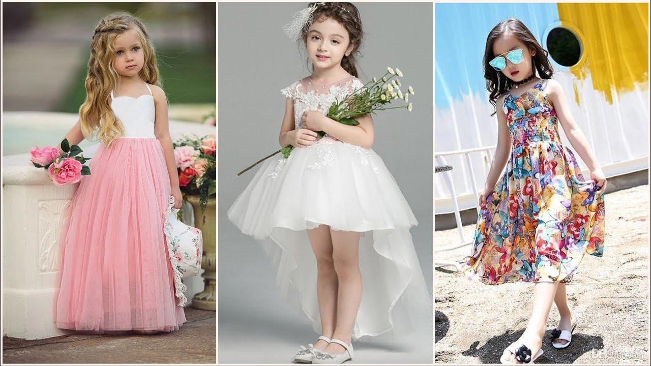 صورة فساتين للعيد بنات , ملابس بنات رقيقة باطلالات رائعة وجميلة 298 5