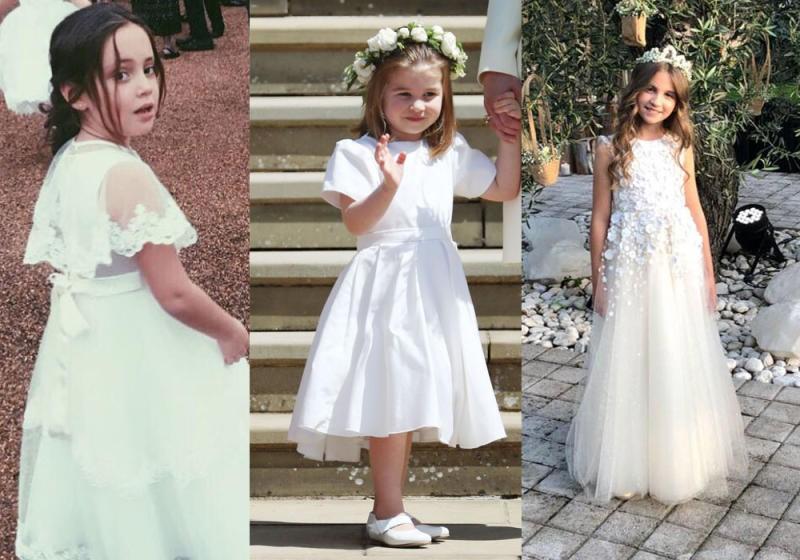 صورة فساتين للعيد بنات , ملابس بنات رقيقة باطلالات رائعة وجميلة 298 8
