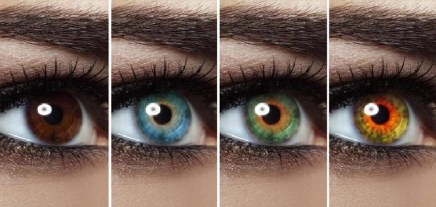 صورة اجمل عيون بالصور , تعرف على معاني الوان العيون بالصور