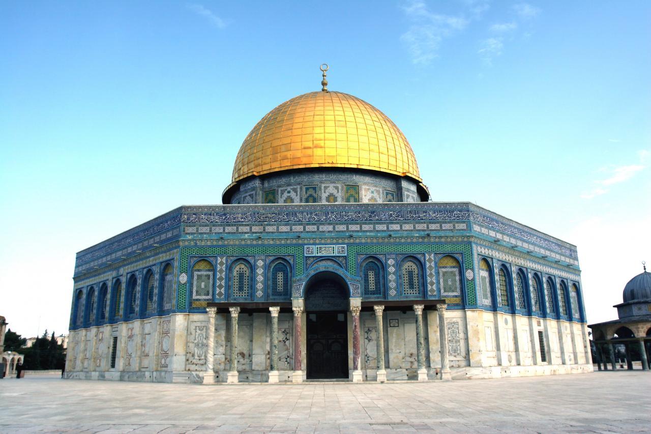 صورة صورة المسجد الاقصى , مسجد مجمع الاديان السماويه