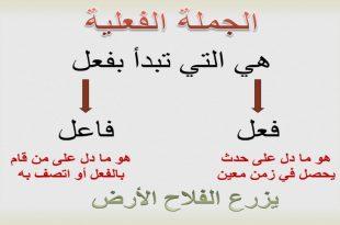 صورة بحث عن الجملة الفعلية , لغتنا الجميلة ما بين الفعل والاسم