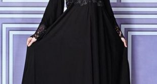 صور عبايات على شكل فستان , اجمل كولكش عبايات روعة