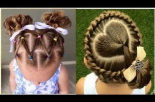 صور اجمل التسريحات للاطفال , اعملى لبنتك شكل جديد في شعرها