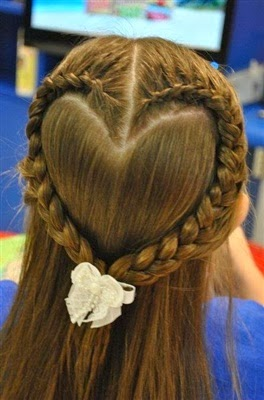 صورة اجمل التسريحات للاطفال , اعملى لبنتك شكل جديد في شعرها 1956 2