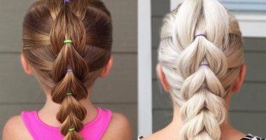 صورة اجمل التسريحات للاطفال , اعملى لبنتك شكل جديد في شعرها 1956 3