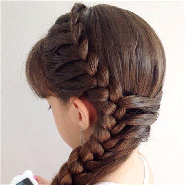 صورة اجمل التسريحات للاطفال , اعملى لبنتك شكل جديد في شعرها 1956 4