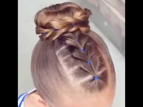 صورة اجمل التسريحات للاطفال , اعملى لبنتك شكل جديد في شعرها 1956 5