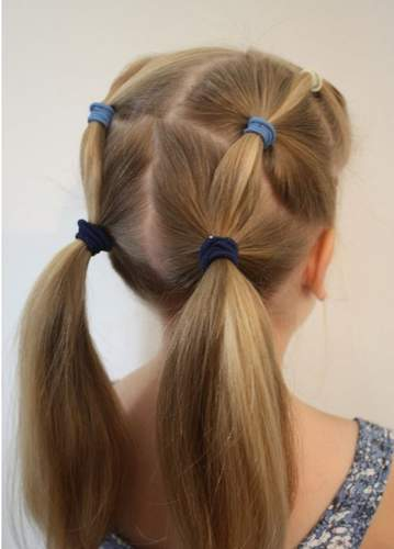 صورة اجمل التسريحات للاطفال , اعملى لبنتك شكل جديد في شعرها 1956 6