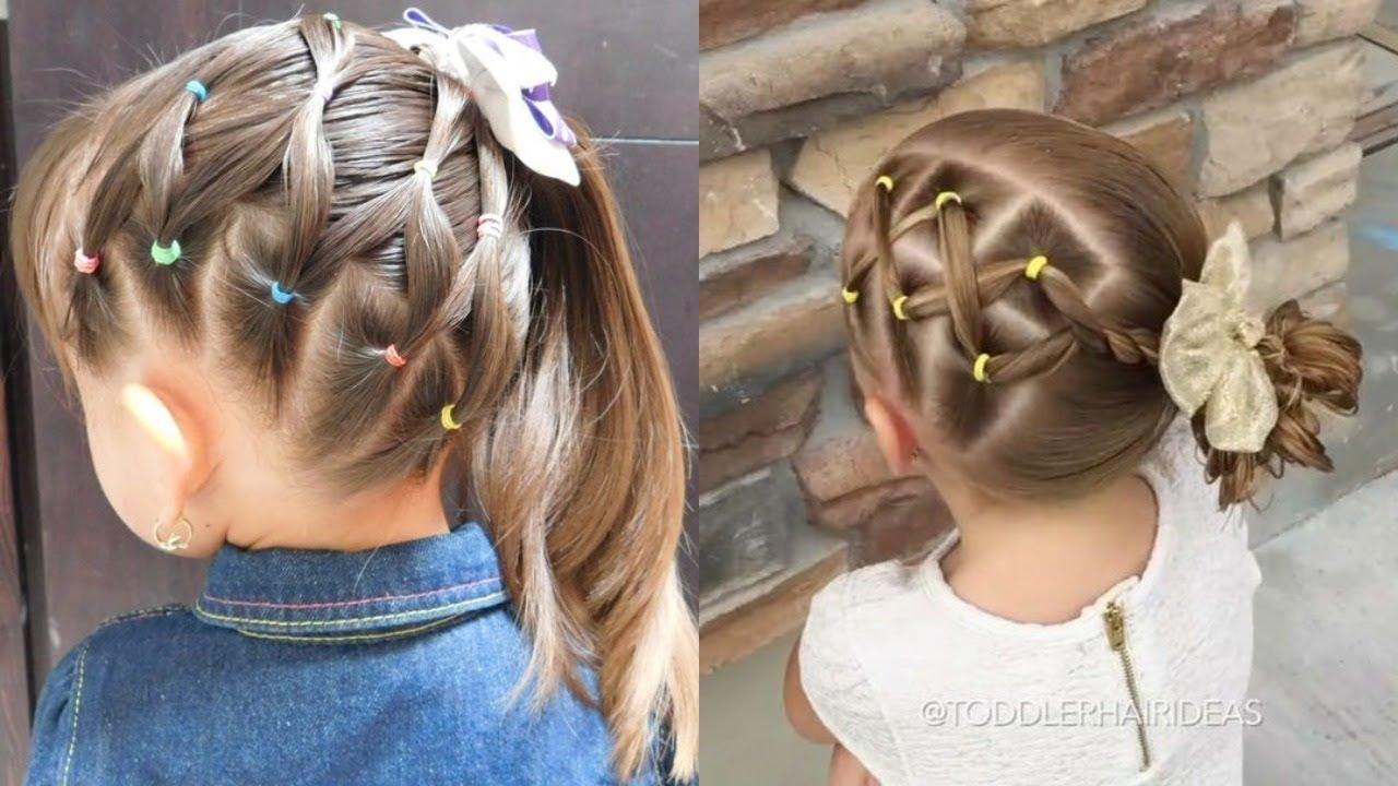 صورة اجمل التسريحات للاطفال , اعملى لبنتك شكل جديد في شعرها 1956 8
