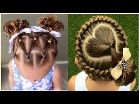 صورة اجمل التسريحات للاطفال , اعملى لبنتك شكل جديد في شعرها 1956