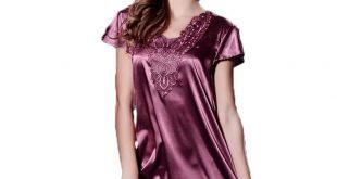 صورة قمصان نوم قصيرة , ملابس مريحة ومثيرة للبنات