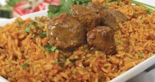 صورة طريقة عمل كبسة اللحم , اكلات سعودية تخبل بالرز البسمتى