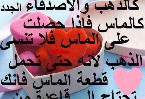 صورة شعر عن الاصحاب قصير , ابيات وقصائد شعرية عن الصحاب الجادعه