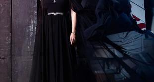 صورة موديل فستان سهرة , اطلالة جديدة بشكل مختلف في حفلة